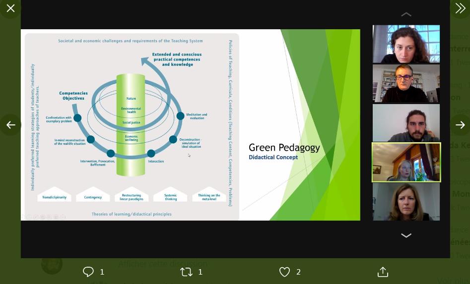 Capture green pedagogy